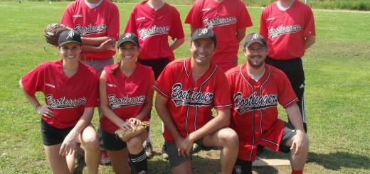 L'équipe softball