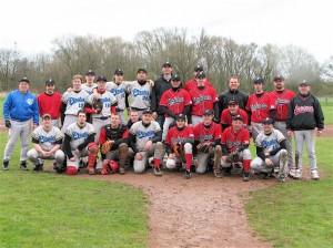 """Premier """"derby"""" entre les deux équipes des Boots, Mars 2010"""